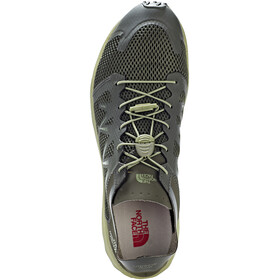 The North Face M's Litewave Flow Lace Shoes Black Ink Green/Four Leaf Clover